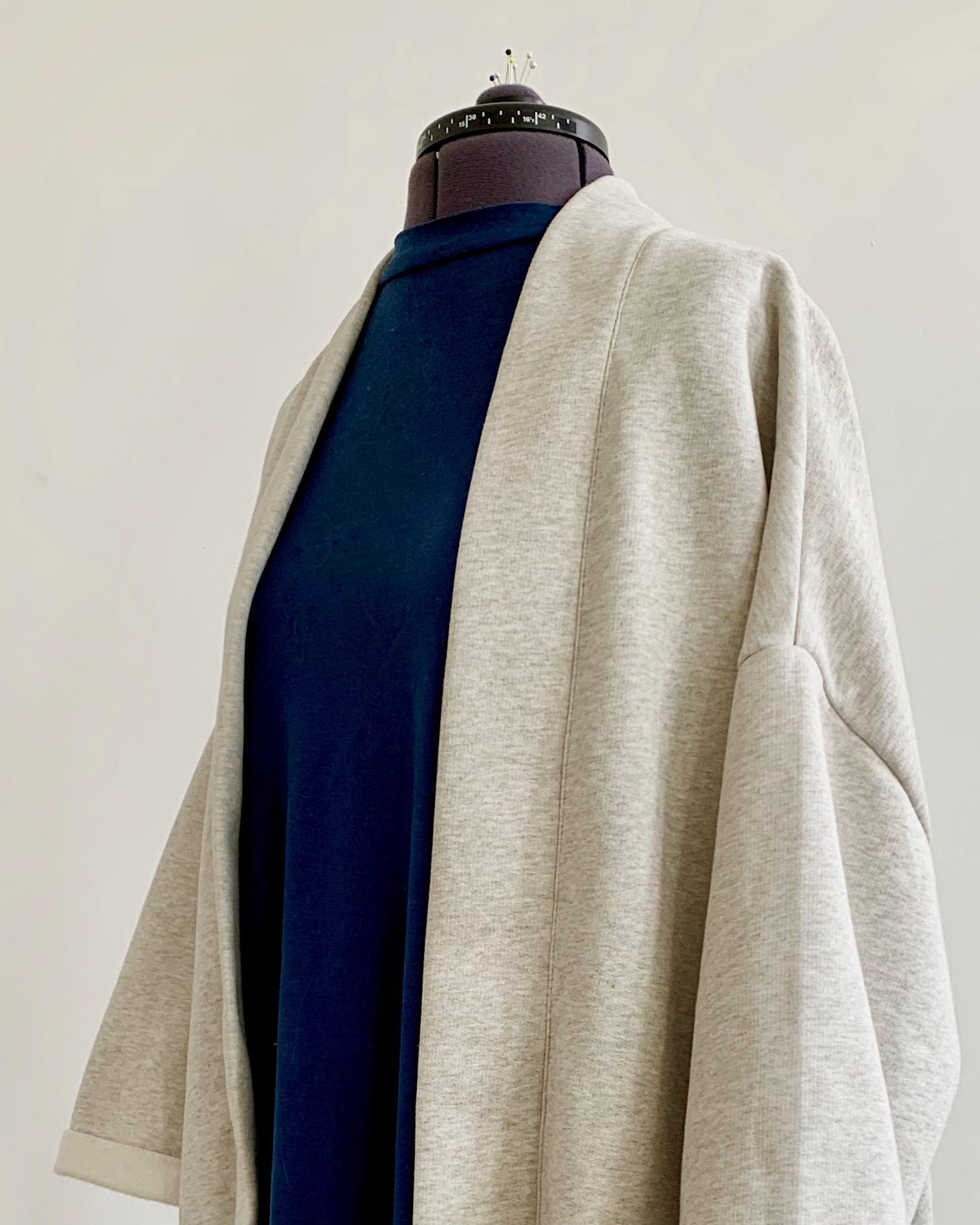 organic cotton fleece jacket