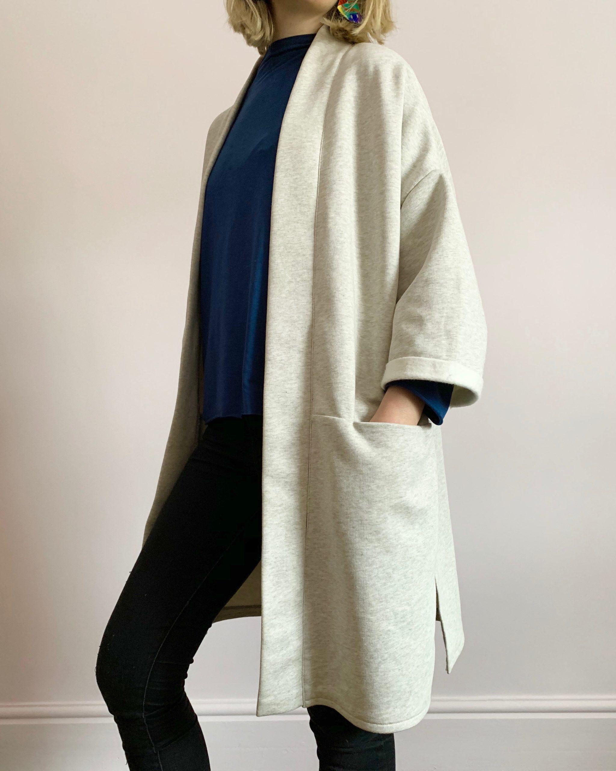 organic cotton Fleece jacket front