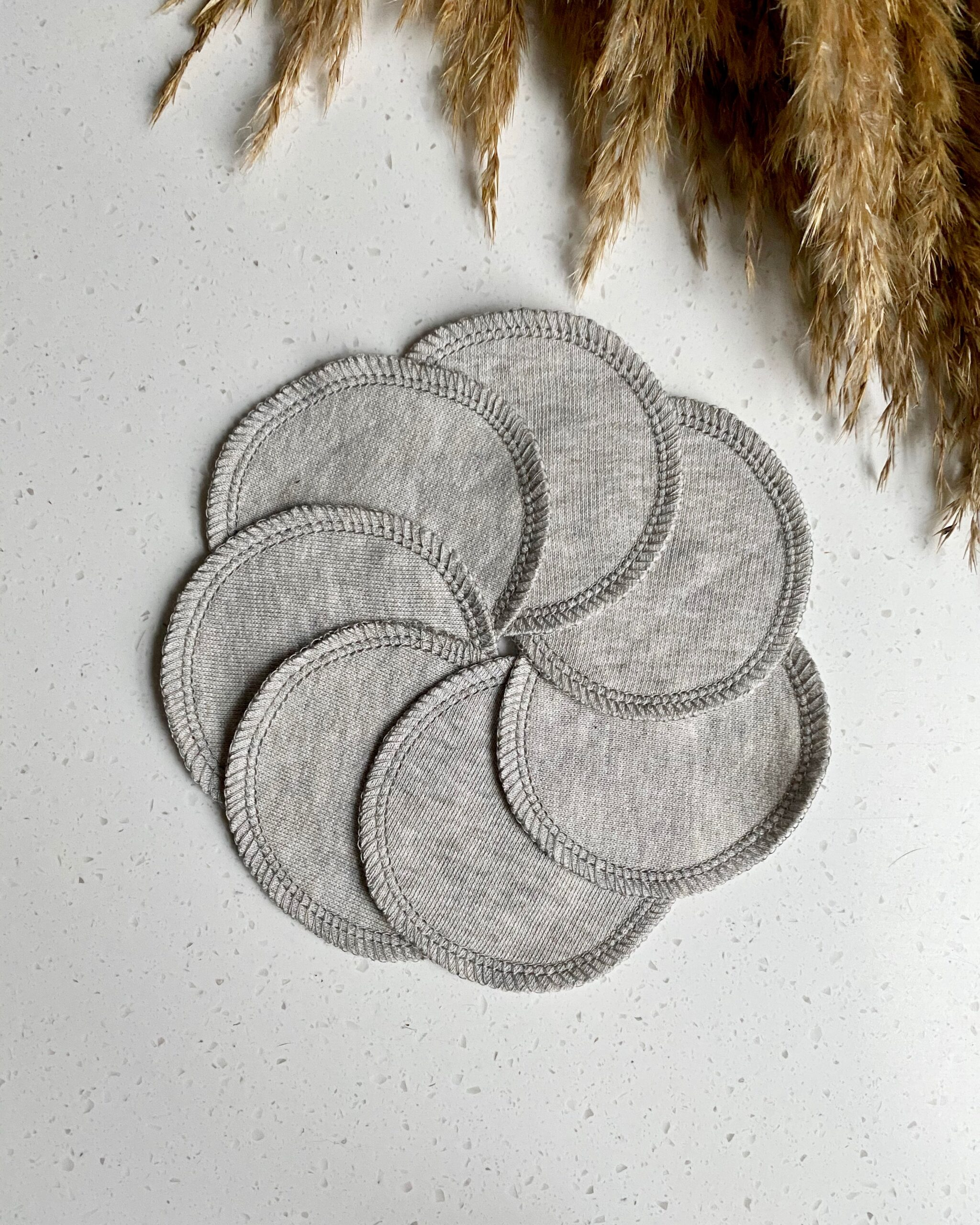 organic cotton face scrubbies